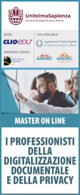 Master universitario ON LINE in Governance Digitale - il link apre un sito esterno